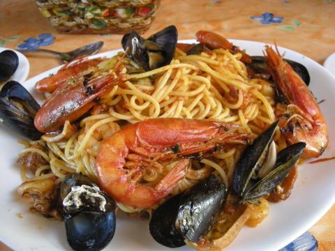 スパゲッティマリナラ