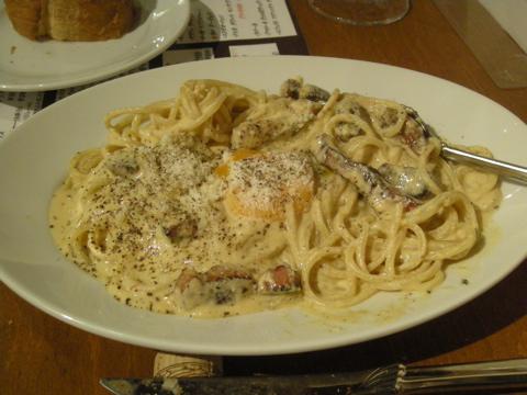 ロゼソース・ピカンテのスパゲチー