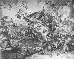 ブリューゲルの「聖アントニウスの誘惑」