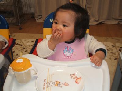 ひな1歳0ヶ月