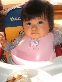 ひな1歳0ヶ月食事