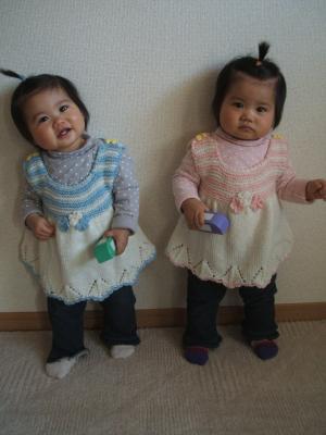 ひなゆい1才0ヶ月藤井さんの服