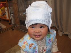 ひなおむつ帽子2