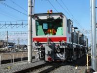 東武ファンフェスタ2008・レール削正車