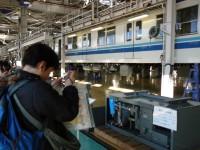 東武ファンフェスタ2008・息子取材中
