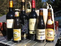 ワインとビール