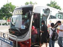 KL行きバス