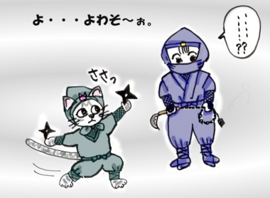 桐の花 忍者2