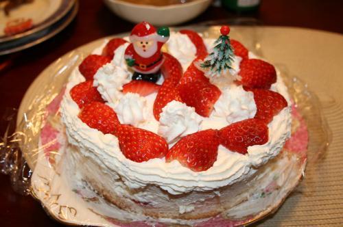 2008-12-24-ケーキ