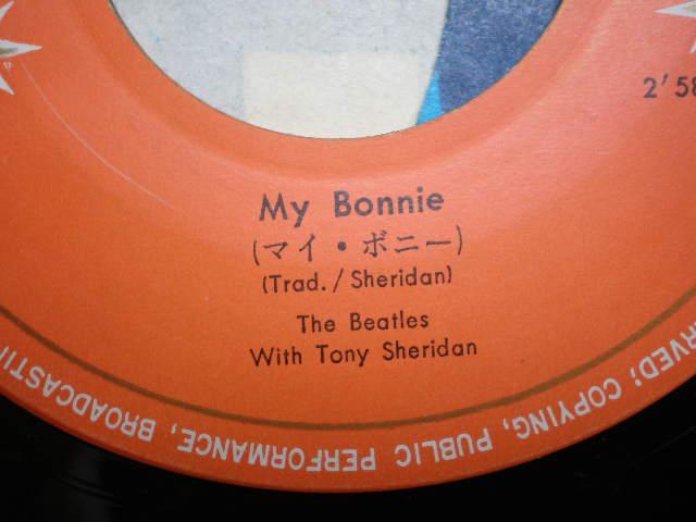 ビートルズ:マイボニーのドーナツ盤