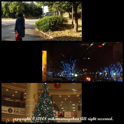 クリスマス大阪城