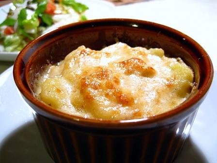 高野豆腐と鶏肉のグラタン