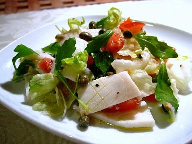 茹でイカのタイ風サラダ1
