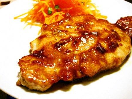 豚肉の中華風カレー焼き2