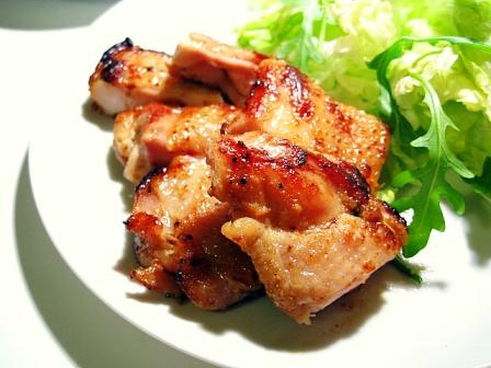 鶏肉のはちみつ味噌漬け焼き