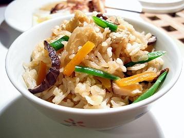 切り干し大根の炊き込みご飯2