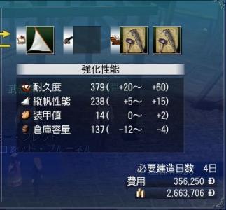 機動型ガンボート強化★4