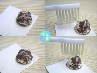 オーブン粘土、アイスの作り方03
