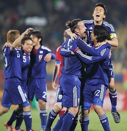 日本代表決勝T進出