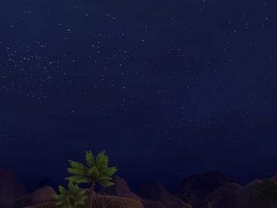 いつもの夜空