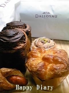ダロワイユのパン