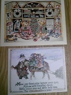 2008年クリスマスカード2
