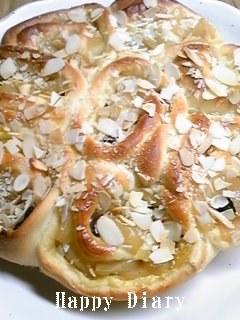 アップルカスタードパン