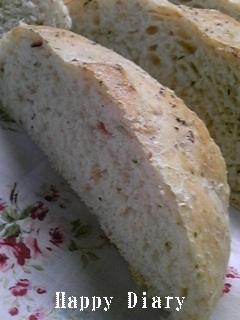 sudohogeさんのベーコン胚芽パン