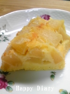 アップルチーズケーキ2