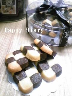 市松模様のクッキー2