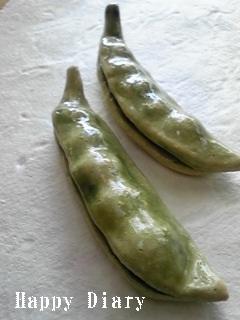 母作 豆のお箸置き