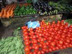 野菜(マラウィの市場)