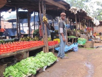 マラウィの市場