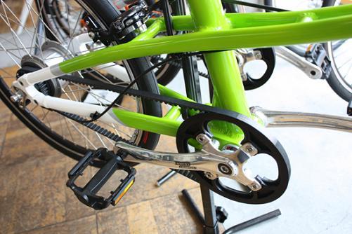 自転車の 自転車 ベルトドライブ メーカー : ... 、ベルトドライブですね