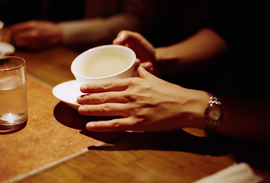 cup and hand