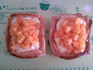 柿パイ柿のせた。