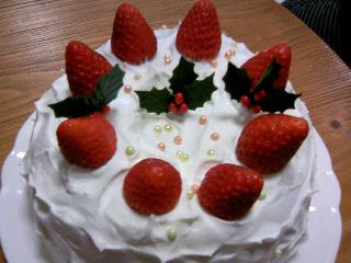 クリスマスケーキ08①