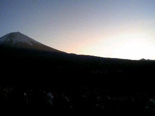 日の出直前