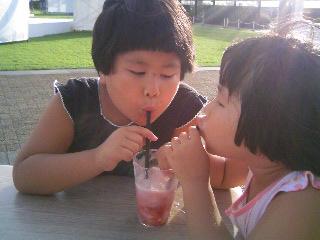 かき氷苺シロップ