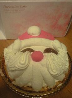 サンタケーキ0