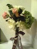 職場からいただいた花束