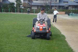 2010.3.20芝生メンテ 001