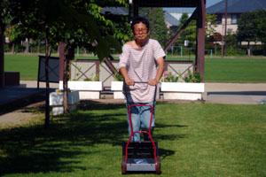 2010.6.5芝生メンテ 005