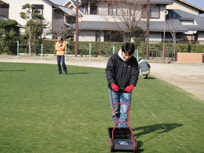 2011.3.26芝生メンテ 004