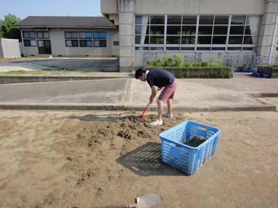 2011.7.16芝生メンテ 001