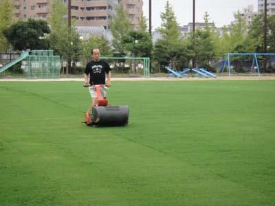 2011.8.20芝生メンテ 003
