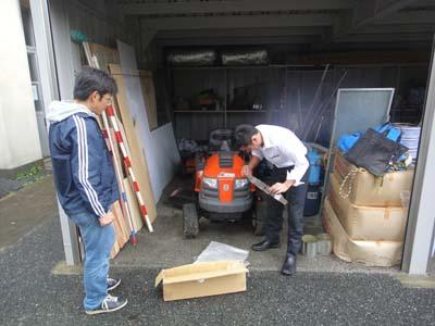 2011.11.19芝生機械メンテ 002