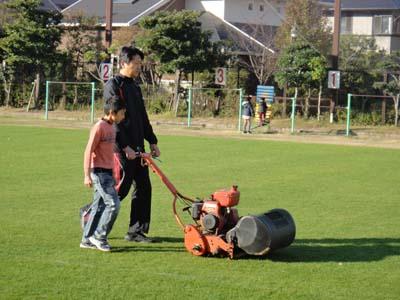 2011.11.26芝生メンテ 017