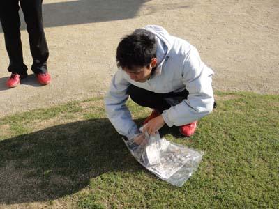 2011.11.26芝生メンテ 025