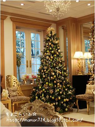 会場 クリスマスツリー